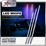 Guangzhou New Design 2/3/4/5/6 Feet Quick Unconnected Buggy LED Whips, RVB Couleur LED Safety Flag Light avec télécommande pour ATV UTV Rzr Buggy SUV Offroad