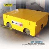 Chariot à transfert de palette automatisé par plate-forme cylindrique lourde de matériaux