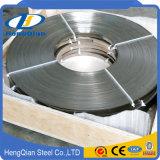 Largeur de 1/2 pouce de 2mm pense sus 201 202 304 316 321 310S 430 Cr bande en acier inoxydable