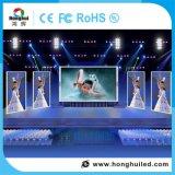 Muestra de interior a todo color de alquiler de la visualización de LED de HD P4 para el hotel