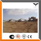 Arena de la trituradora de piedra que hace la línea por la fábrica de China