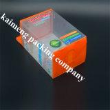 Оптовая выдвиженческая складывая коробка Подавать-Бутылки пакета ясная пластичная с ручкой (подавать-бутылка)