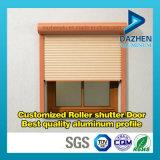 Perfil de aluminio anodizado de la extrusión de aluminio para la ventana de la puerta del obturador del rodillo