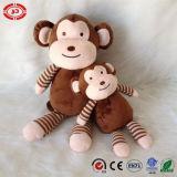Le cadeau se reposant de la CE de grande peluche de yeux de Brown badine le jouet de singe