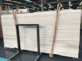 Marmo Polished della dolomia del grano di legno bianco di Perlino Bianco