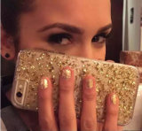 Bling Silicone Phone Case para Samsung S8 S5 J3 J5