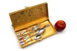 Матовый ручку ложки/вилочный захват/комплекта ножей набор посуды из нержавеющей стали