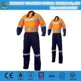 Workwear de la industria, bata química del bombero de la ropa protectora