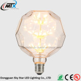 Unique Design Apple Shape 3W 2200K Starry LED Lamp Bulb