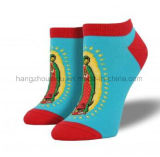 Fantastischer neuer Patten-Entwurfs-heiße Verkaufs-Knöchel-Socke