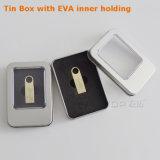 금 주문 로고 금속 소형 열쇠 고리 USB3.0 Pendrive (YT-3295-02)