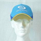 Custom синий Cottonsports бейсбола колпачок с 3D Вышитый логотип