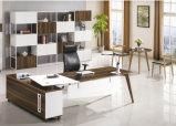 Bureau rond de Tableau de bureau du Président gestionnaire d'acier en forme de tuyau en métal (NS-ND048)