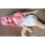 Nieuwe Doll 65cm van het Geslacht van het Silicone van de Hoogste Kwaliteit Zwarte Japans Levensecht Doll van de Liefde