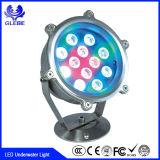 Indicatore luminoso subacqueo chiaro della fontana di energia idroelettrica dell'interruttore di telecomando LED 10W LED