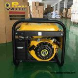 Potencia 2,5 kW Mini Auto Start Silencio Generador de gasolina con precio de fábrica