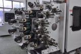 Máquina de la impresión en color Gc-6180 seises compensada para el tazón de fuente plástico de la taza