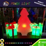 Décor et cadeau en plastique de Noël de lampe d'Event&Party DEL Derorative