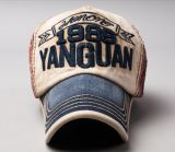 2017 sombrero 100% de béisbol del bordado del algodón 3D de la alta calidad