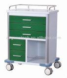 [أغ-غس006] [س&يس] مستشفى عربة ظلام - خضراء طارئ حامل متحرّك
