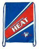 Sac promotionnel avec les sacs de cordon faits sur commande bon marché de logo aucuns sacs à dos de minimum