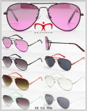Óculos de sol de metal colorido para crianças (WSM612181)