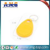 13.56MHz HF ABS kundenspezifisches MIFARE 1k RFID Keychain