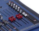 2 der 16 Kanal-Audiomischer-Konsole mit USB-Mikrofon-Konsole ausgeben