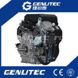 Luft 19HP kühlte 2 Motorrad-Benzin des Zylinder-678cc/Vergasermotor ab
