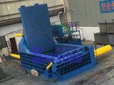 Máquina de aço da prensa das tubulações das câmaras de ar da sucata hidráulica automática