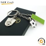 Commerce de gros cadeau promotionnel Cheap Pavillon Trousseau métalliques personnalisées