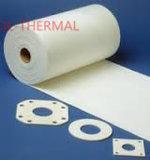 0.4m m ningún papel refractario de fibra de cerámica de la carpeta orgánica