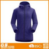 Зима способа женщин женщин Hiking микро- приполюсная куртка ватки