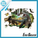 Etiqueta engomada animal de la pared del vinilo de las etiquetas engomadas del dinosaurio 3D 2016