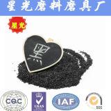 Mayorista de China de aluminio de óxido de soportes de chorro de arena negra