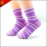 Hotsale transparente Gefäß-Socken des jungen Mädchens