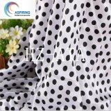 75dx100d 100% polyester polyester satiné tissu imprimé