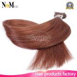 Estensione naturale legata pura Nano dei capelli della cheratina di vibrazione di estensione dei capelli umani dei capelli 100% dell'anello