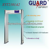 Detector de metales de puerta de marco, paseo a través de detector de metales, escáner de cuerpo entero para la seguridad