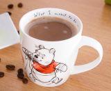 Tazas y tazas de gran tamaño blancas baratas de café