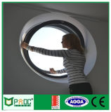 Janela redonda francesa Styloe com vidro duplo-Pnocr01
