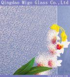 Verre texturé laminé décoratif de 3,5 mm 4 mm 5 mm avec motif de flamme