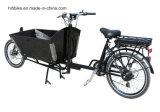 長いジョンによっては証明書が付いているオランダのバイクが自転車に乗る