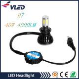割引価格ほとんどの普及した40W 4000lm車G5の穂軸LEDのヘッドライトH7