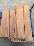 Suelo inacabado de la madera dura de Cumaru
