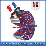 Unremovable螺線形の版の熱交換器