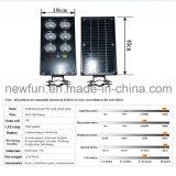 9W LED intégrée Rue lumière solaire jardin de la lumière avec détecteur de mouvement