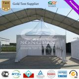 шатер Pagoda PVC 5X5m ясный для напольных случаев свадебного банкета