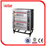 Astar 2 Tellersegment-Gas-Ofen der Plattform-4, industrieller Backen-Ofen für Brot