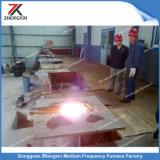 Forno di fusione di induzione favorevole all'ambiente dell'SCR per ferro/rame/acciaio